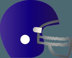 American Football Helmet clipart
