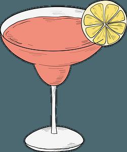 Margarita cocktail clipart
