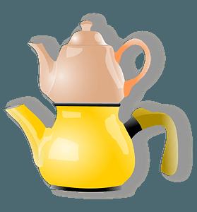 Shiny Teapot clipart