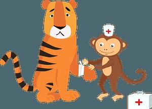 Doctor animal 클립 아트