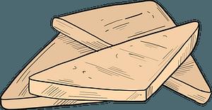 Breakfast toast clipart
