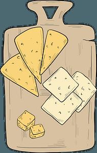 Italian food - cheese clipart