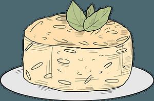 Italian food clipart