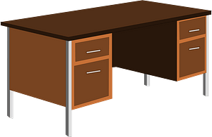 Office Desk clipart