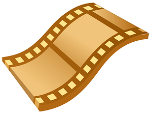 Movie Film Snippet clipart