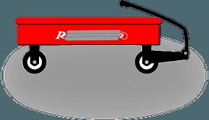 Little Rider Wagon clipart