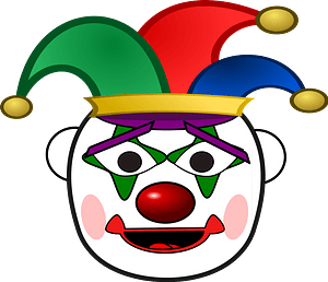 Jester Clown clipart