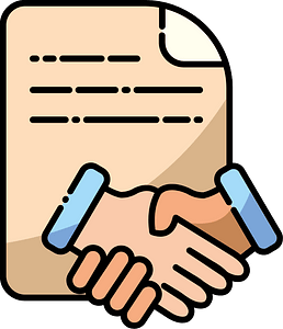 Contract clipart