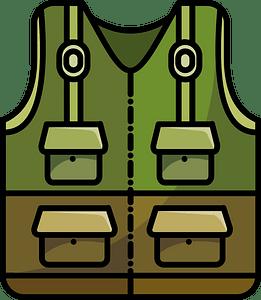 Fishing vest immagine clipart