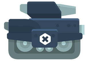 Blue tank clipart