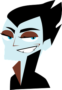Blue Faced Dracula clipart