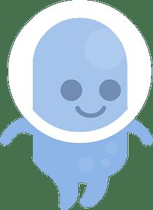 Blue alien 클립 아트