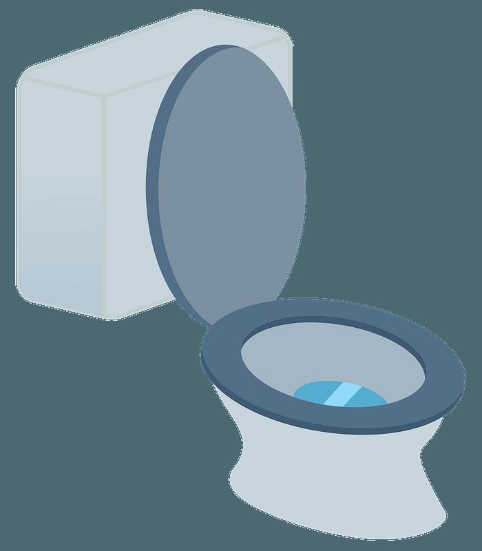 Toilet Clipart School Bathroom - Toilet Clipart - Free Transparent PNG  Clipart Images Download