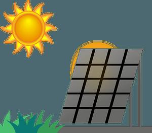 Solar Panel Sun clipart