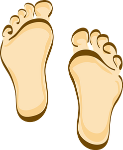 Soles of the Feet clipart