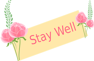 Stay Well Sign clipart