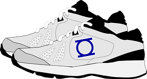 Sneakers clipart