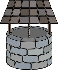 Covered Wishing Well clipart