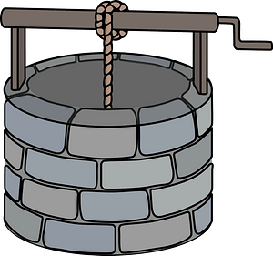 Crank Wishing Well clipart