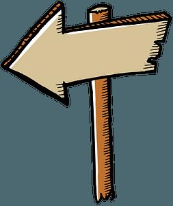 Arrow Sign clipart