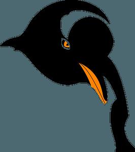 Penguin Face clipart