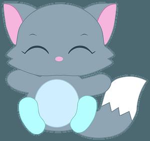 Gray cat 클립 아트