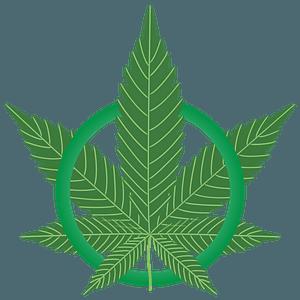 Marijuana Leaf Green clipart