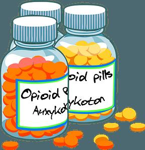 Drugs in Pill Bottles clipart