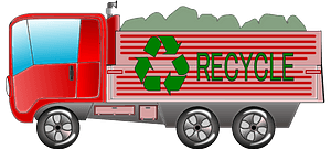 Recycling Truck clipart