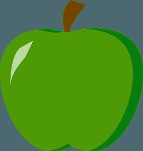 Grannysmith Apple clipart