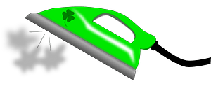 Steam Iron clipart