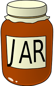 Jar of Jam clipart