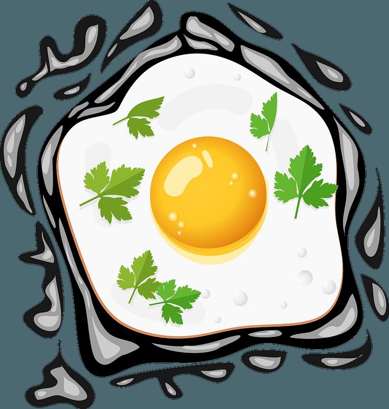 Egg clipart - Frying Pan, Fried Egg, Egg, transparent clip art
