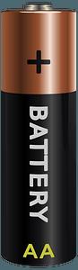 Battery AA clipart