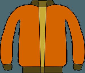 Orange Jacket clipart