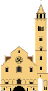 Trani Cathedral clipart