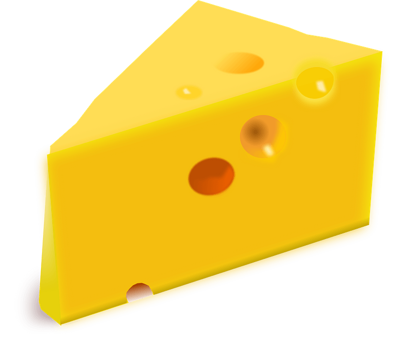 Cheese Wedge Clipart