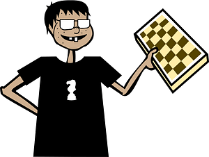 Chess Nerd clipart