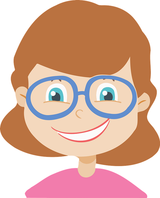 Happy Girl Clip Art