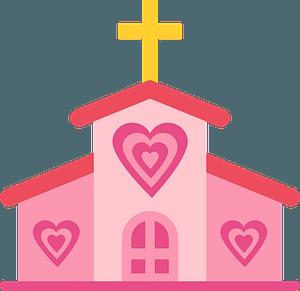 Church of Love clipart