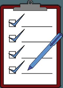 Clipboard Check clipart