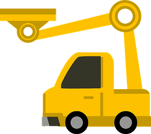 Crane Truck clipart