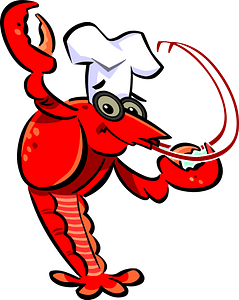 Crawfish Chef clipart