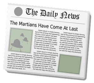 Daily News Aliens Wildchief clipart