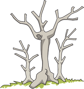 Dead Trees clipart
