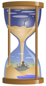 Fantasy Hourglass clipart