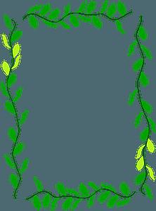 Floral Border clipart