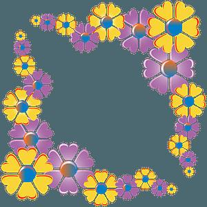 Flower Corner clipart