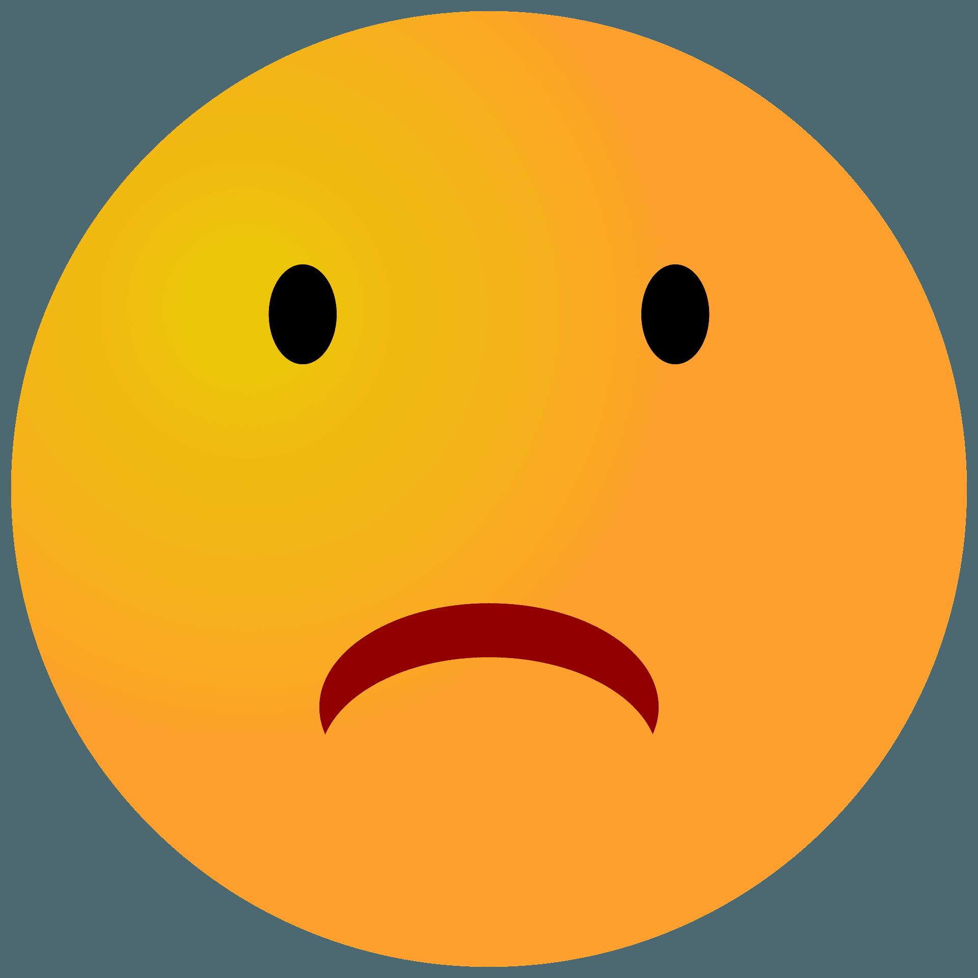 Crying Sad Emoji Png - Sad Face Emoji Transparent Background , Free  Transparent Clipart - ClipartKey