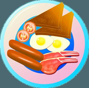 Breakfast Foods clipart
